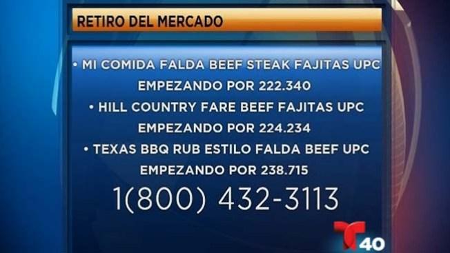 Retiran carne del mercado