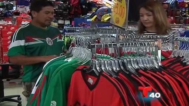 Se agota la camiseta de la selección mexicana