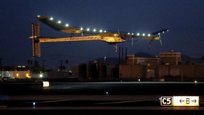 Avión solar alcanza nuevo reto