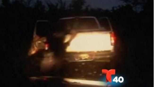 Revelan video persecución en La Joya