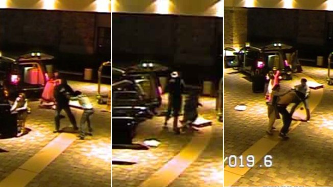 Video: ladrones ineptos pierden hasta la camisa
