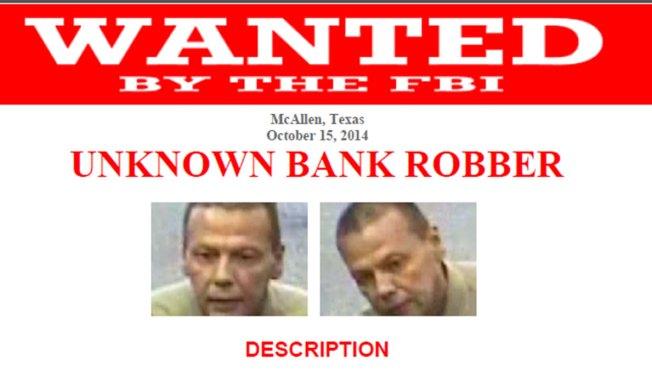 FBI busca identificar a asaltante de banco