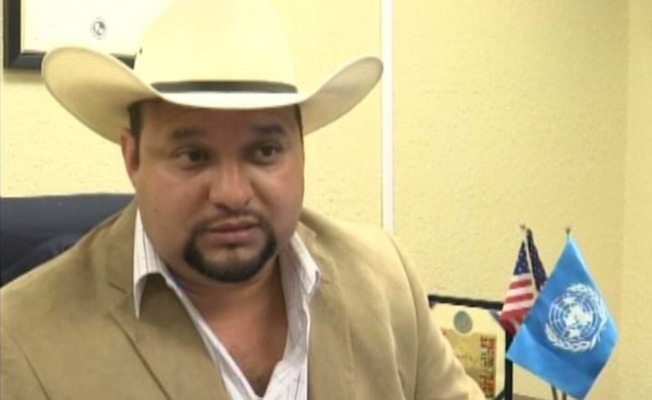 Geovanni Hernández espera ser sheriff de Hidalgo