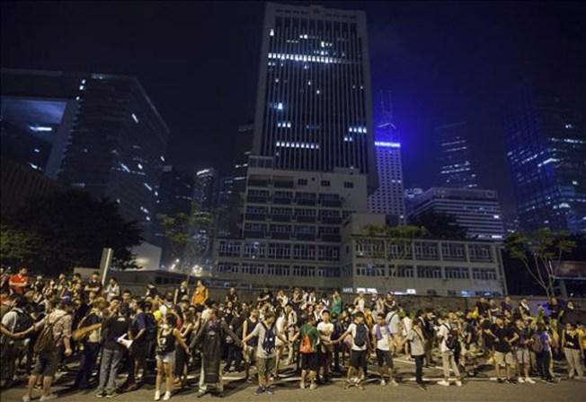 Múltiples enfrentamientos en Hong Kong