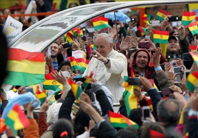 Bolivia: Papa pide detener el hambre en el mundo