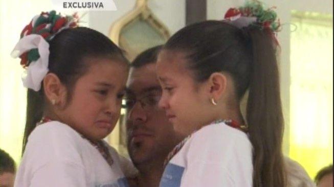 Emotivo adiós para Clariza Cantú y su hija