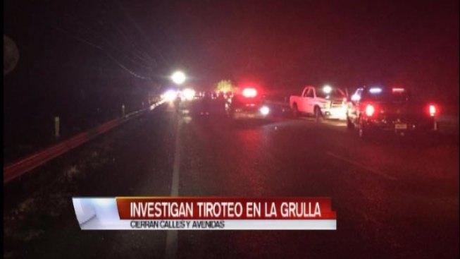 Mueren dos personas en tiroteo en La Grulla