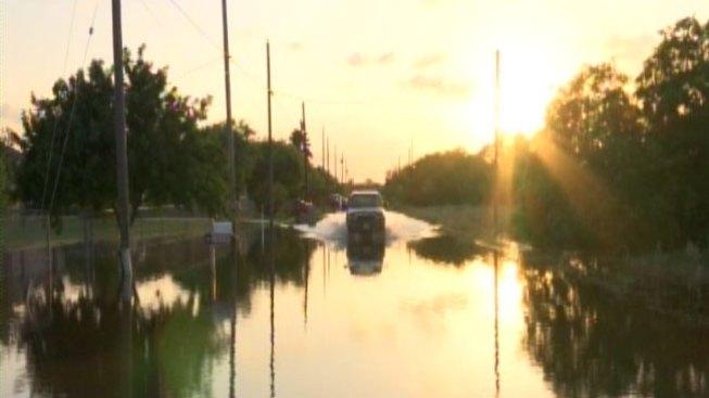 Comunidad todavía está afectada por las lluvias