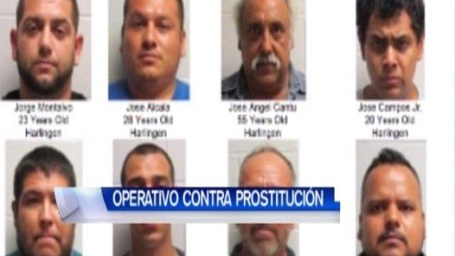 Arrestan a 32 hombres en operativo contra la prostitución