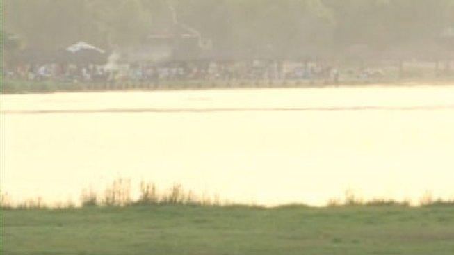 Rescatan a tres personas en el Río Grande