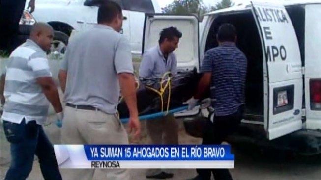 Ya se han hallado 15 cadáveres en el río Bravo