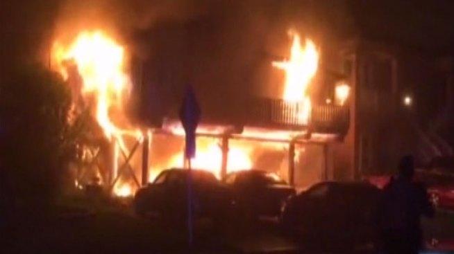 Fuego deja a siete personas sin hogar